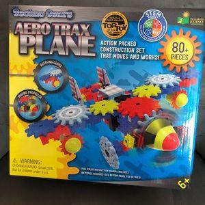 The Learning Journey Techno Gears Aero Trax Plane